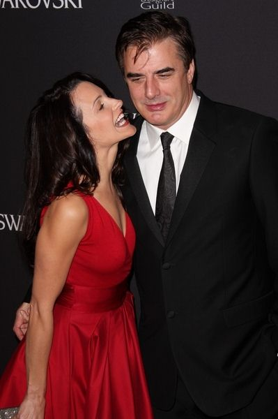 Kristin Davis, Chris Noth at 11th Annual Costume Designers Guild Awards at Four Seasons Beverly Wilshire Hotel, Beverly Hills, CA. USA