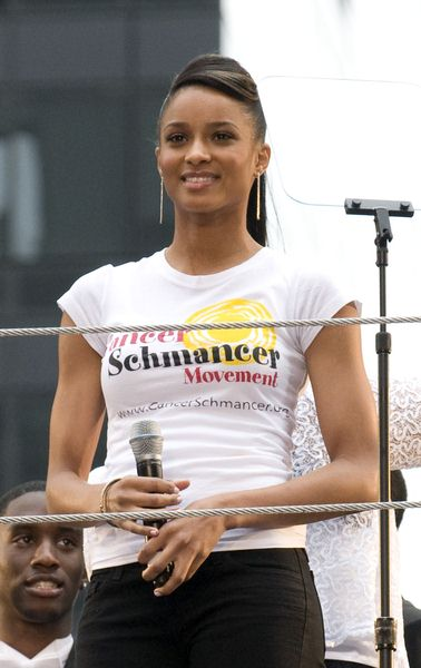 Ciara at 12th Annual EIF Revlon Run Walk For Women - Times Square, New York City, NY, USA