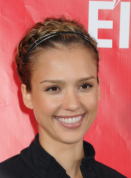 Jessica Alba at 12th Annual EIF Revlon Run Walk For Women - Times Square, New York City, NY, USA