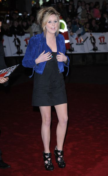 Diana Vickers at '17 Again' UK Premiere at Odeon West End, London, UK