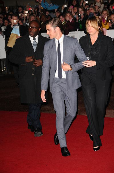 Zac Efron at '17 Again' UK Premiere at Odeon West End, London, UK