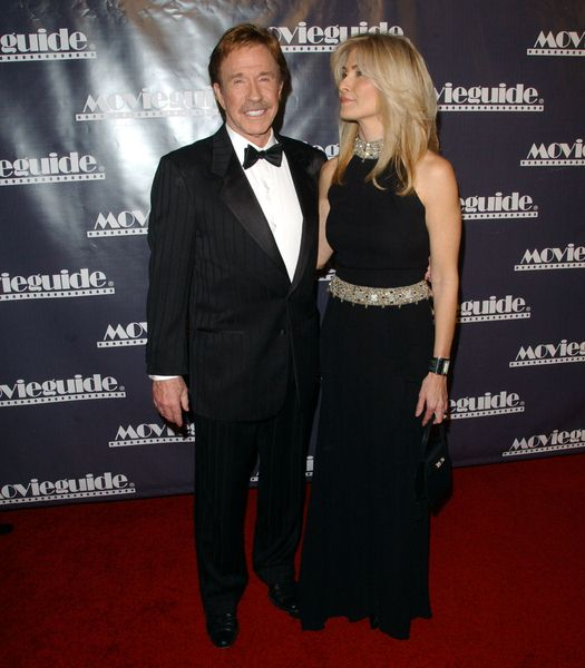 Chuck Norris, Gena (wife) at 17th Annual Movieguide Awards Gala at The Beverly Hilton Hotel, Beverly Hills, CA. USA