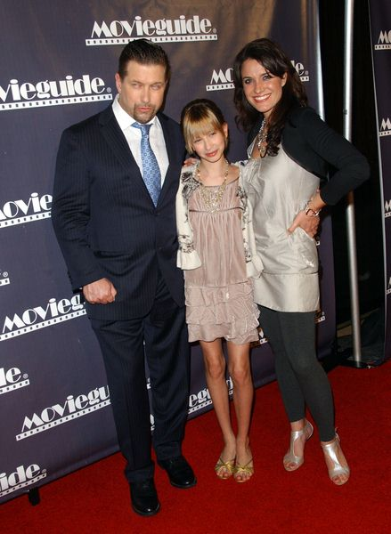 Stephen Baldwin, Kennya (daughter), Rebecca St. James at 17th Annual Movieguide Awards Gala at The Beverly Hilton Hotel, Beverly Hills, CA. USA