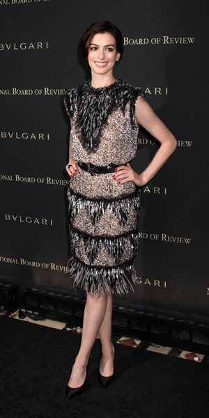 Anne Hathaway at 2008 National Board of Review of Motion Pictures Awards Gala - Cipriani's, New York City, NY, USA