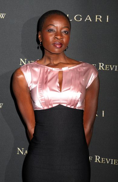 Danai Jekesai Gurira at 2008 National Board of Review of Motion Pictures Awards Gala - Cipriani's, New York City, NY, USA