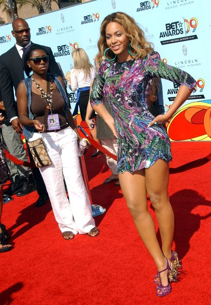 Beyonce Knowles at 2009 BET Awards - Arrivals - The Shrine Auditorium, Los Angeles, CA. USA