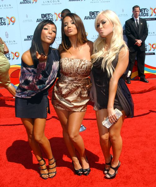 Girlicious at 2009 BET Awards - Arrivals - The Shrine Auditorium, Los Angeles, CA. USA