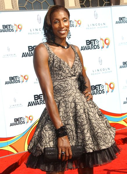 Lisa Leslie at 2009 BET Awards - Arrivals - The Shrine Auditorium, Los Angeles, CA. USA