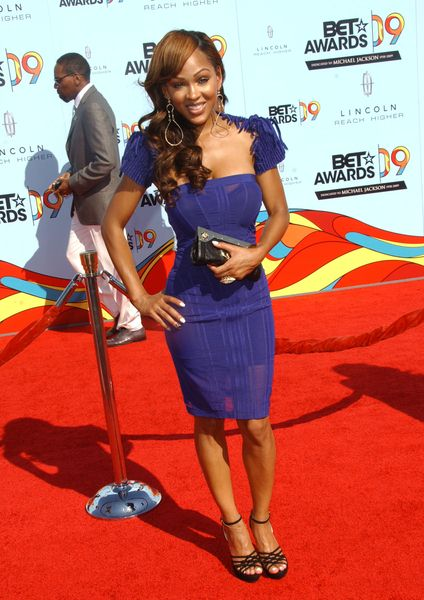 Meagan Good at 2009 BET Awards - Arrivals - The Shrine Auditorium, Los Angeles, CA. USA
