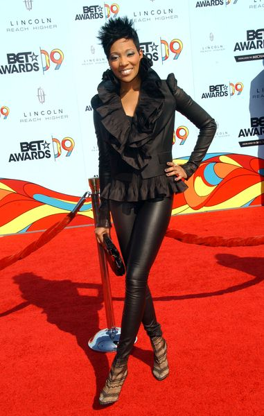 Monica at 2009 BET Awards - Arrivals - The Shrine Auditorium, Los Angeles, CA. USA