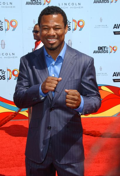 Sugar Shane Mosley at 2009 BET Awards - Arrivals - The Shrine Auditorium, Los Angeles, CA. USA