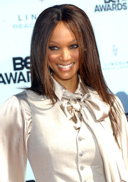 Tyra Banks at 2009 BET Awards - Arrivals - The Shrine Auditorium, Los Angeles, CA. USA