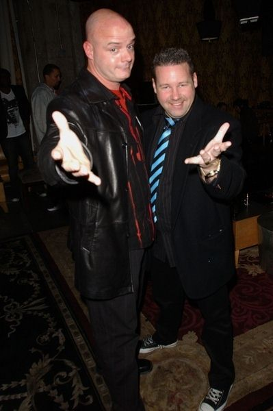 Chris Mitchell, Rob Rasner at 2009 Birthday Party For Katie Lohmann at SBar, Hollywood, CA. USA