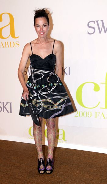 Cynthia Rowley at 2009 CFDA Fashion Awards at Alice Tully Hall, Lincoln Center, New York City, NY, USA