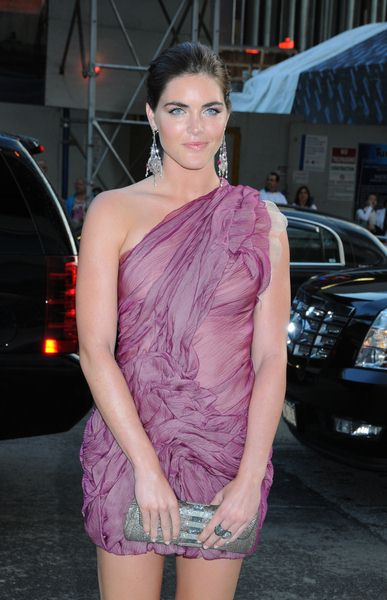 Hilary Rhoda at 2009 CFDA Fashion Awards at Alice Tully Hall, Lincoln Center, New York City, NY, USA