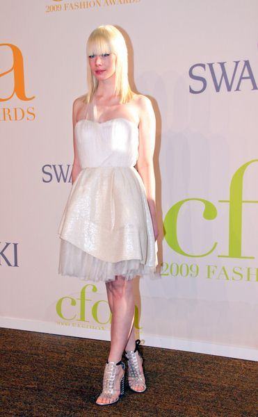Erin Fetherston at 2009 CFDA Fashion Awards at Alice Tully Hall, Lincoln Center, New York City, NY, USA