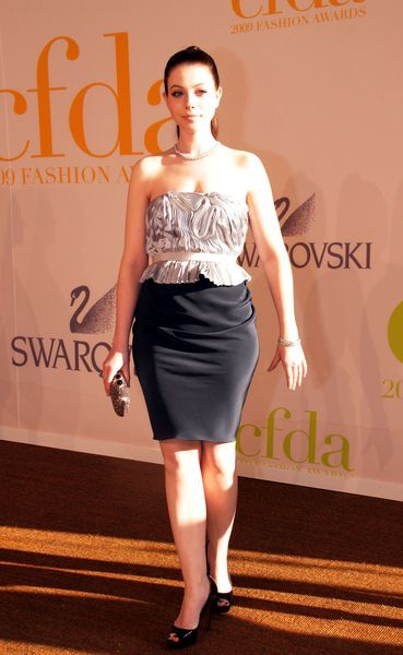 Michelle Trachtenberg at 2009 CFDA Fashion Awards at Alice Tully Hall, Lincoln Center, New York City, NY, USA