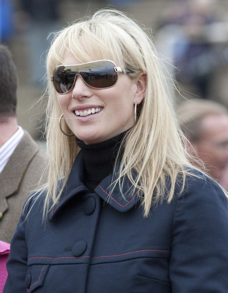 Zara Phillips at 2009 Cheltenham Horse Racing Festival at Cheltenham Racecourse, Cheltenham, UK