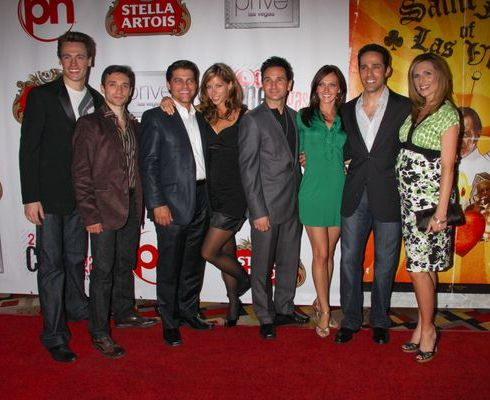 Las Vegas Jersey Boys at 2009 CineVegas Film Festival - Opening Night - 'Saint John of Las Vegas' Premiere - Planet Hollywood Resort and Casino, Las Vegas, NV, USA