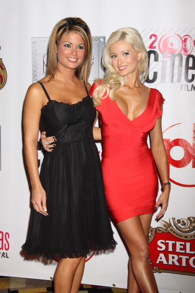 Laura Croft, Holly Madison at 2009 CineVegas Film Festival - Opening Night - 'Saint John of Las Vegas' Premiere - Planet Hollywood Resort and Casino, Las Vegas, NV, USA