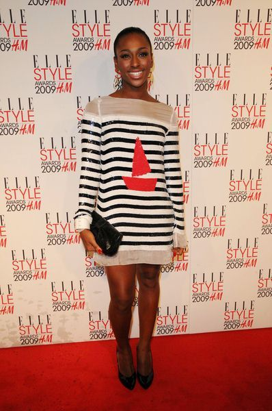 Alexandra Burke at 2009 Elle Style Awards - Big Sky Studios, London, UK