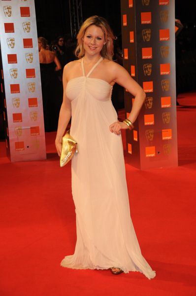 Abi Titmuss at 2009 Orange British Academy of Film and Television Arts (BAFTA) Awards - Royal Opera House in Covent Garden, London, UK