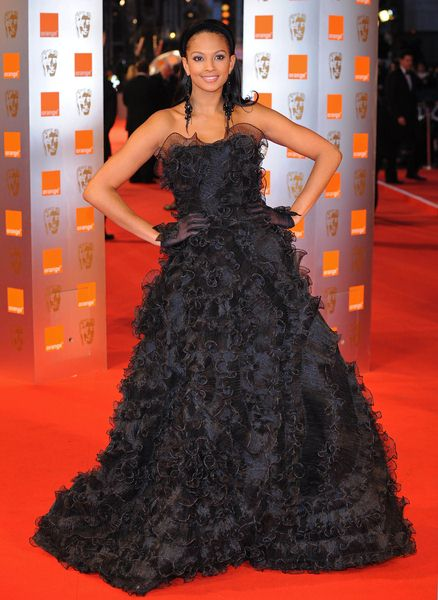 Alesha Dixon at 2009 Orange British Academy of Film and Television Arts (BAFTA) Awards - Royal Opera House in Covent Garden, London, UK
