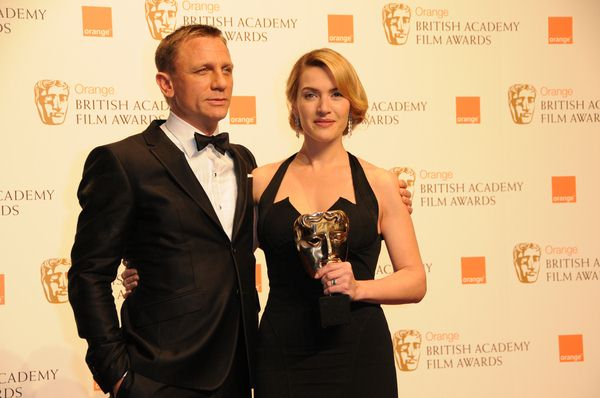 Daniel Craig, Kate Winslet at 2009 Orange British Academy of Film and Television Arts (BAFTA) Awards - Royal Opera House in Covent Garden, London, UK