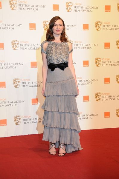 Emily Mortimer at 2009 Orange British Academy of Film and Television Arts (BAFTA) Awards - Royal Opera House in Covent Garden, London, UK