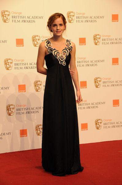 Emma Watson at 2009 Orange British Academy of Film and Television Arts (BAFTA) Awards - Royal Opera House in Covent Garden, London, UK