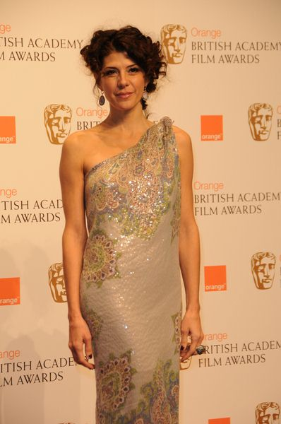 Marisa Tomei at 2009 Orange British Academy of Film and Television Arts (BAFTA) Awards - Royal Opera House in Covent Garden, London, UK