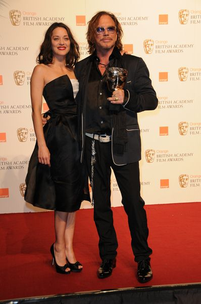 Mickey Rourke at 2009 Orange British Academy of Film and Television Arts (BAFTA) Awards - Royal Opera House in Covent Garden, London, UK
