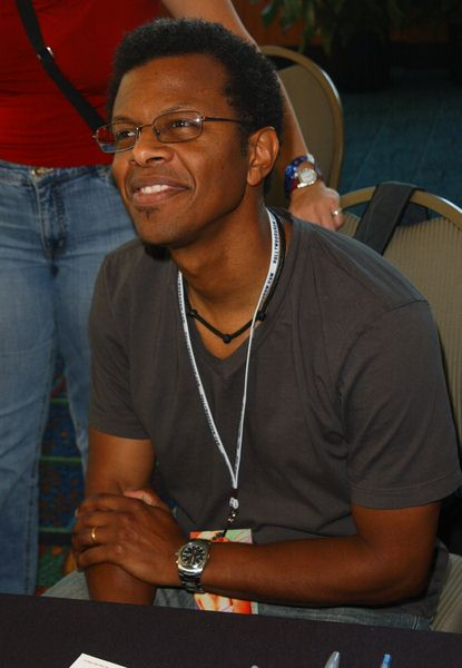 Phil LaMarr at 2009 Summer Hollywood Show - day 1 - Burbank Airport Marriott Hotel, Burbank, CA. USA