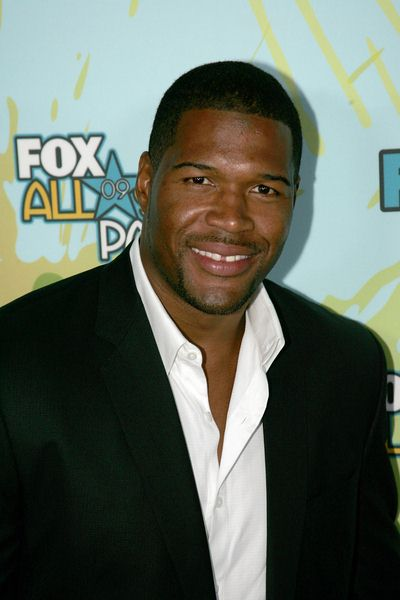 Michael Strahan at 2009 TCA Summer Tour - Fox All-Star Party - Arrivals - The Langham Resort, Pasadena, CA, USA