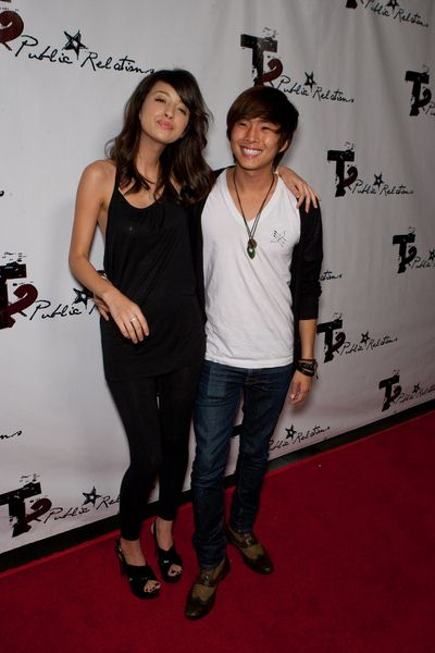 Christian Serratos, Justin Shon at 2009 Teen Choice Awards Pre-Party - Arrivals - Level 3, Hollywood, CA, USA