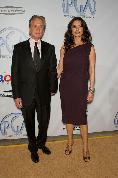 Michael Douglas, Catherine Zeta-Jones at 20th Annual Producers Guild Awards at The Hollywood Palladium, Los Angeles, CA USA