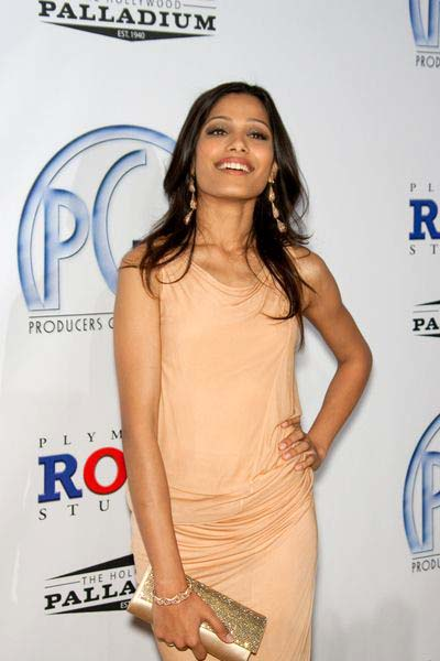 Freida Pinto at 20th Annual Producers Guild Awards at The Hollywood Palladium, Los Angeles, CA USA