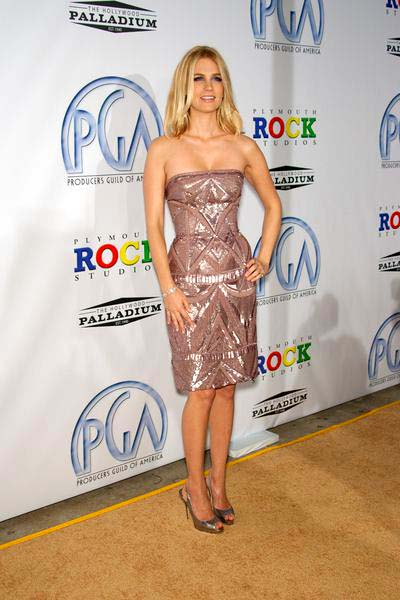 January Jones at 20th Annual Producers Guild Awards at The Hollywood Palladium, Los Angeles, CA USA