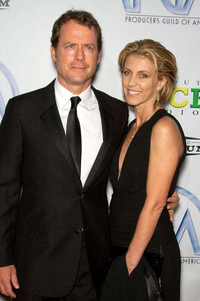 Greg Kinnear, Helen Labdon at 20th Annual Producers Guild Awards at The Hollywood Palladium, Los Angeles, CA USA