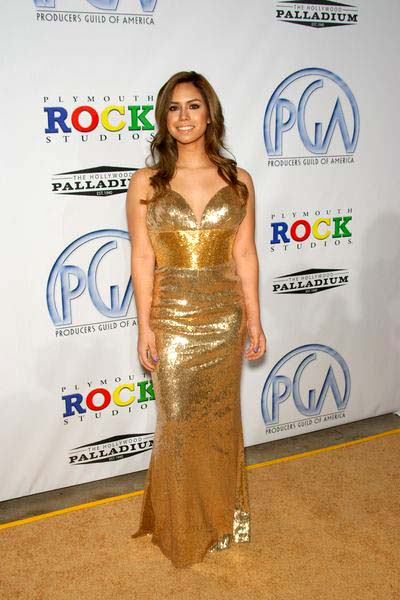 Vanessa Luberti at 20th Annual Producers Guild Awards at The Hollywood Palladium, Los Angeles, CA USA