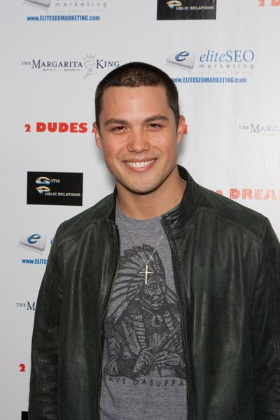 Michael Copon at '2 Dudes and a Dream' Los Angeles Premiere at ArcLight Hollywood, Hollywood, CA USA