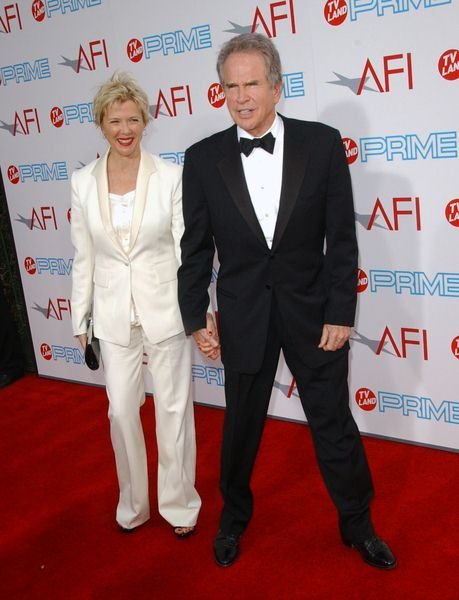 Annette Bening, Warren Beatty at 37th Annual AFI Lifetime Achievement Awards at Sony Studios, Culver City, CA. USA