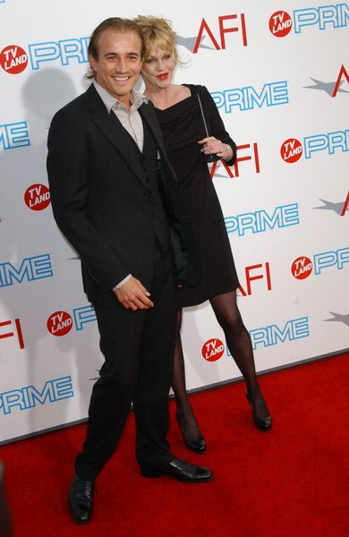 Jesse Johnson, Melanie Griffith at 37th Annual AFI Lifetime Achievement Awards at Sony Studios, Culver City, CA. USA