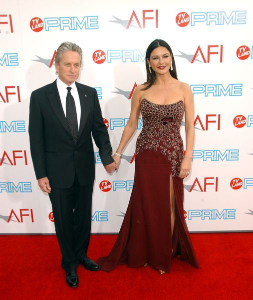 Michael Douglas, Catherine Zeta-Jones at 37th Annual AFI Lifetime Achievement Awards at Sony Studios, Culver City, CA. USA