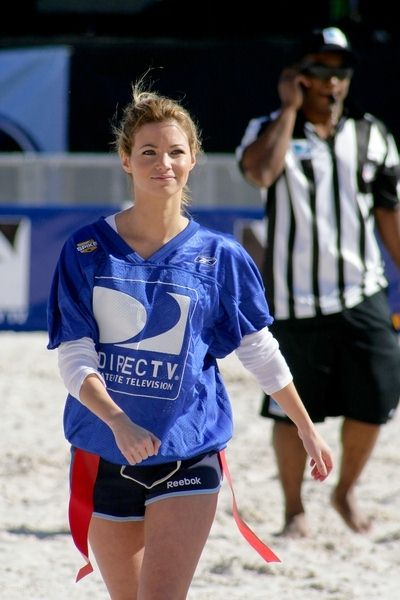 Amber Lancaster at 3rd Annual DirectTV Celebrity Beach Bowl at Progress Energy Park in St. Petersburg, FL, USA