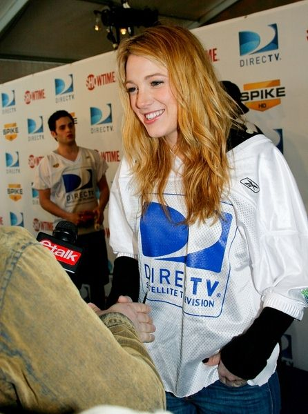 Blake Lively at 3rd Annual DirectTV Celebrity Beach Bowl at Progress Energy Park in St. Petersburg, FL, USA