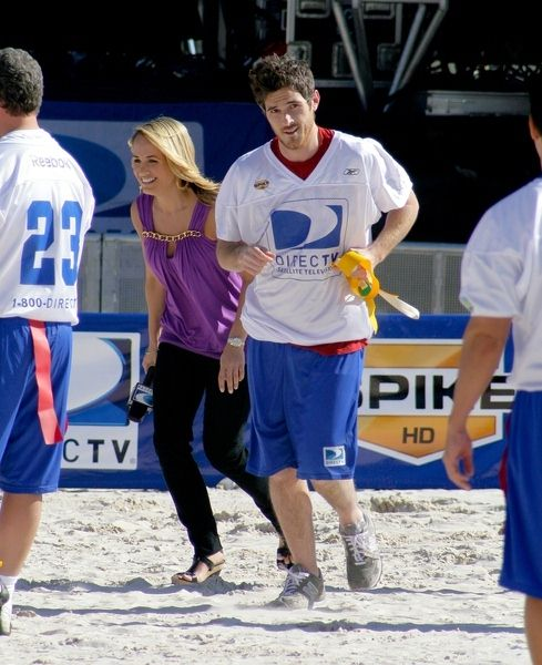 Matthew Rhys at 3rd Annual DirectTV Celebrity Beach Bowl at Progress Energy Park in St. Petersburg, FL, USA