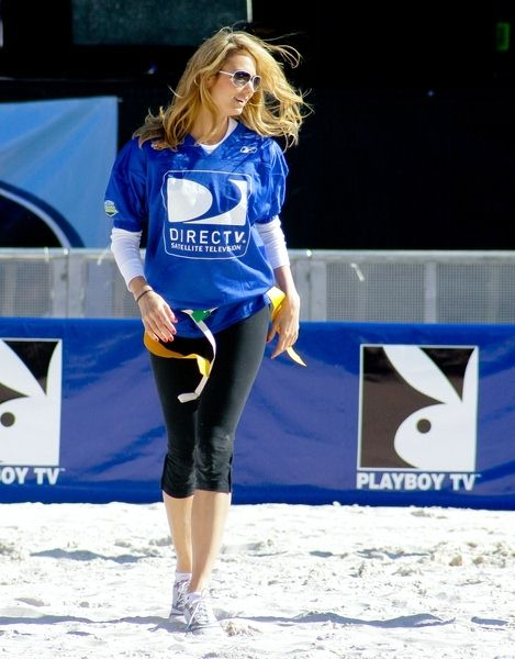 Stacy Keibler at 3rd Annual DirectTV Celebrity Beach Bowl at Progress Energy Park in St. Petersburg, FL, USA