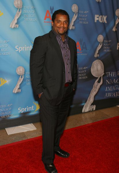 Alfonso Ribeiro at 40th Annual NAACP Image Awards Pre-Show Gala at Creative Artists Agency, Los Angeles CA, USA