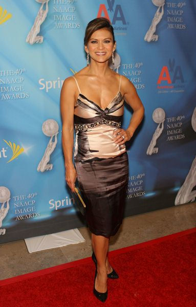 Nia Peeples at 40th Annual NAACP Image Awards Pre-Show Gala at Creative Artists Agency, Los Angeles CA, USA